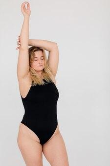 Sucesso diversidade beleza corpo positivo e conceito de pessoas