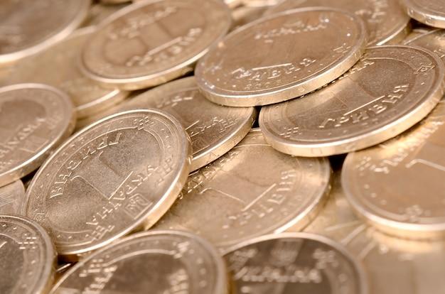 Sucesso financeiro dinheiro ucraniano para conceitos de vida rica