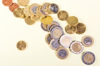 Sucesso moedas isolado