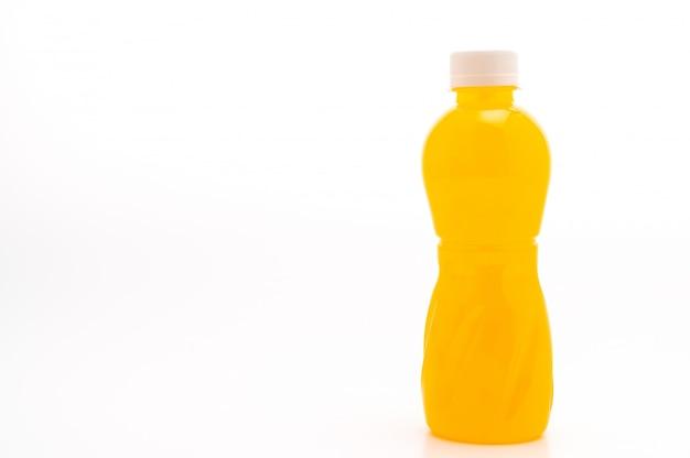 Suco de laranja com nata de coco ou geléia de coco