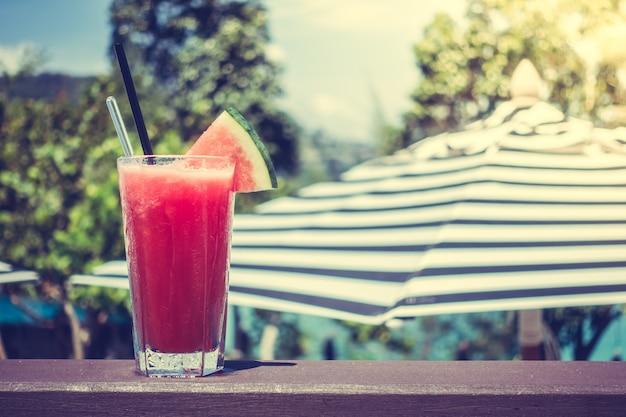 Suco de melancia Foto gratuita