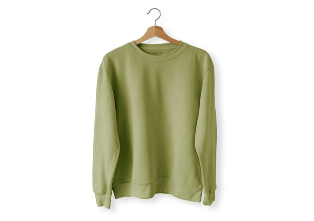 Suéter frente verde