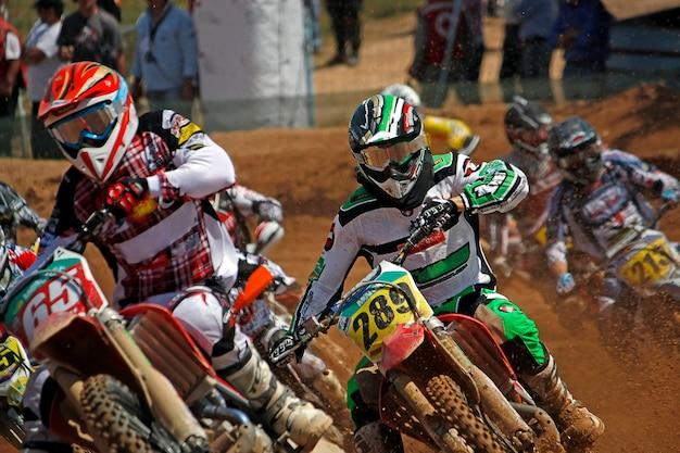 Sujeira motocross