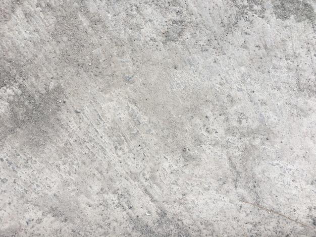 Sujo chão de concreto empoeirado