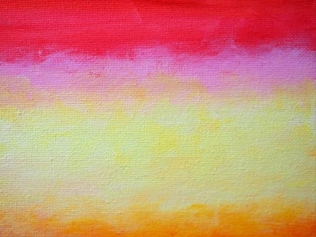 Sumário colorido e textura do inclinação da pintura a óleo.