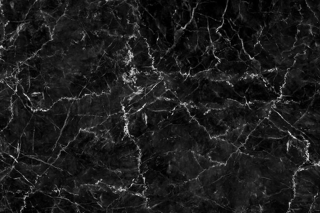 Sumário de pedra natural do teste padrão da textura de mármore preta do fundo para o trabalho de arte do projeto.