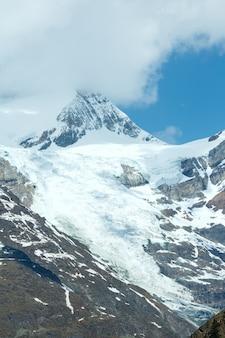 Summer alps mountain view do planalto (suíça, perto de zermatt)
