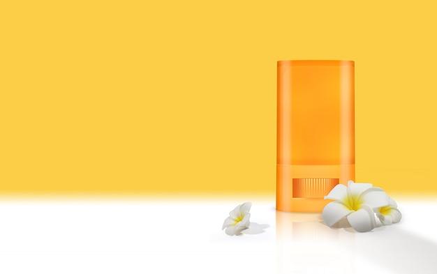 Sun block para proteção solar de verão