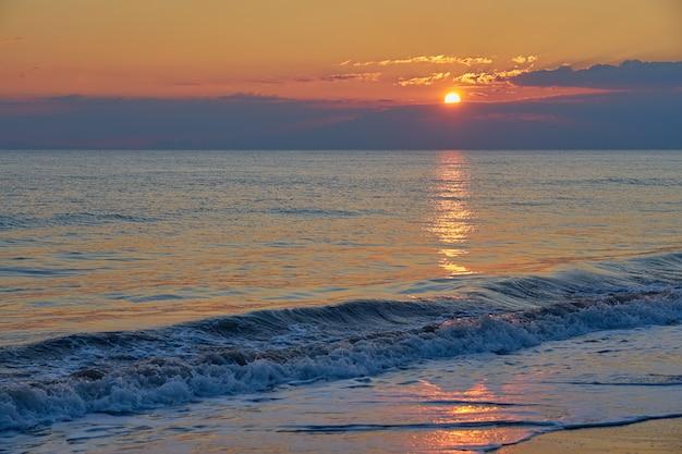 Sunset beach tropical