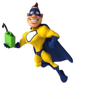 Super-herói divertido