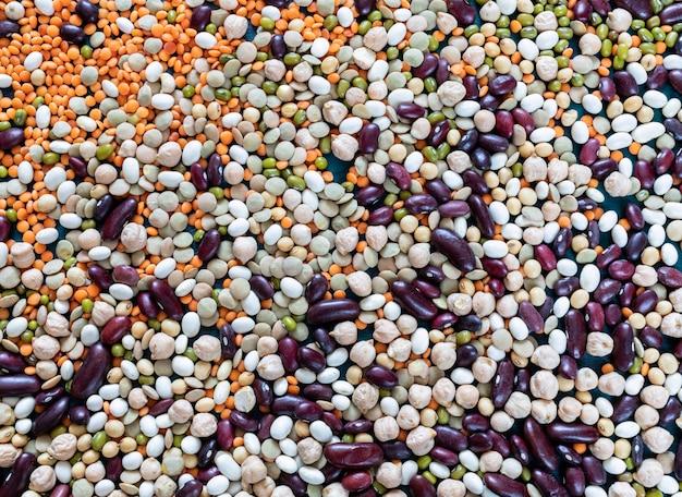 Superalimentos de cereais saudáveis