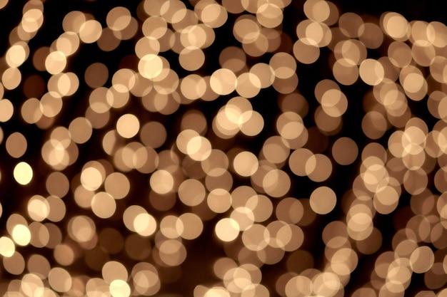Superfície abstrata elegante de natal com luzes de bokeh