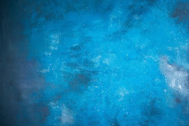 Superfície abstrata em azul claro e escuro