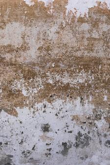Superfície áspera da parede com sujeira