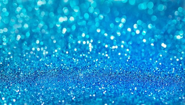 Superfície azul brilhante