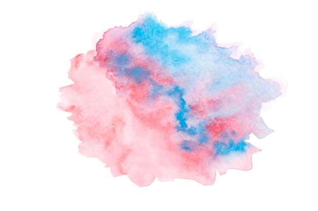 Superfície com tinta aquarela artística