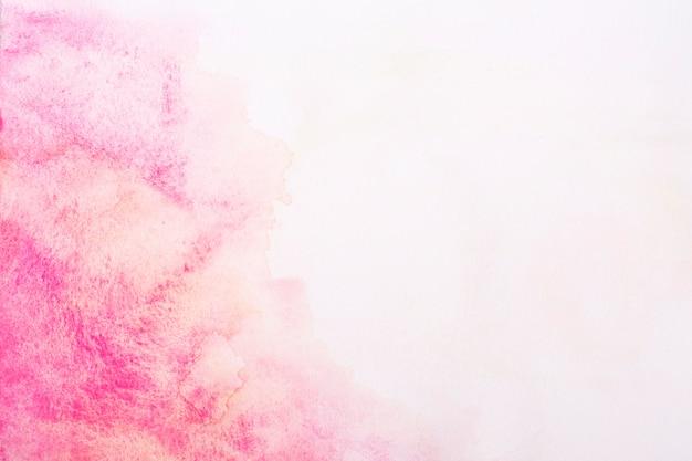 Superfície com tinta aquarela expressiva