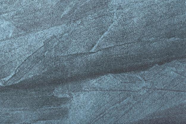 Superfície da arte abstrata em cores azul marinho e cinza