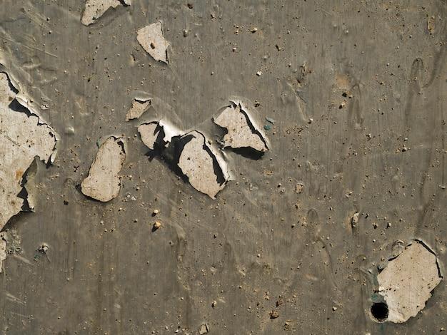 Superfície da parede arranhada close-up