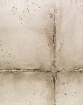 Superfície da parede de concreto com junta