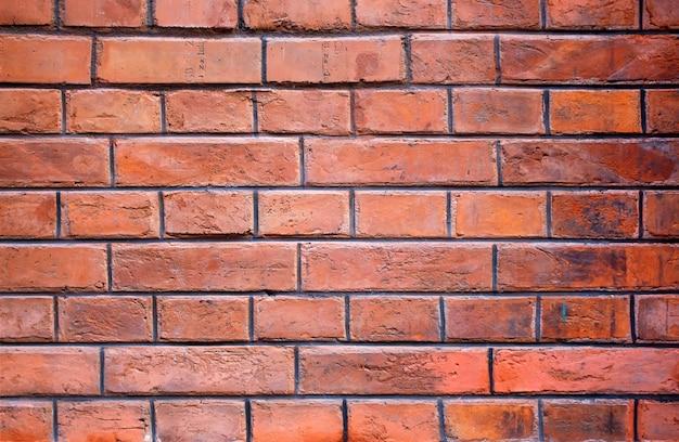Superfície da parede de tijolo velho