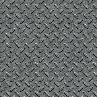 Superfície da placa de diamante de metal. textura tileable sem emenda.