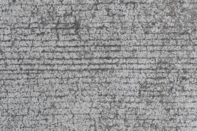 Superfície da textura da estrada de concreto.