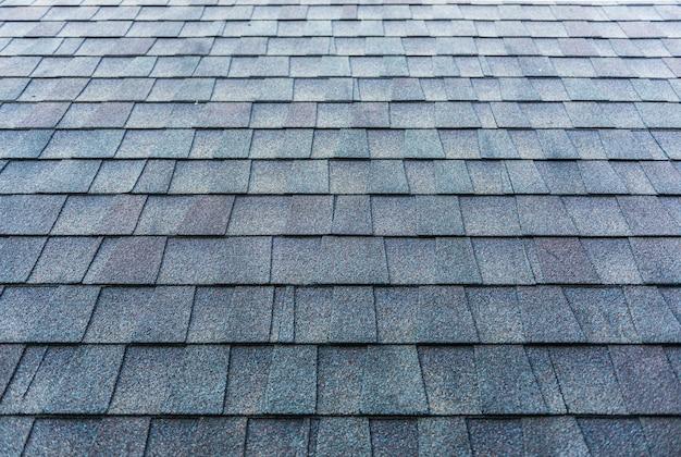 Superfície das telhas