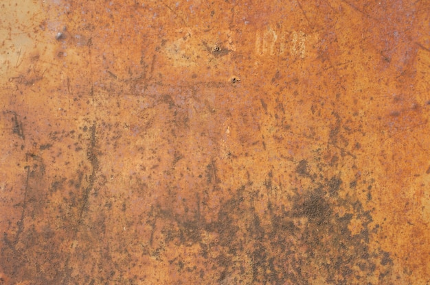 Superfície de aço velha