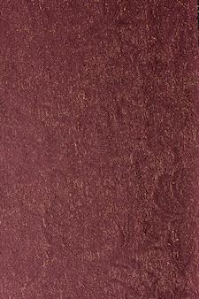 Superfície de alfaiate em tecido de vista superior
