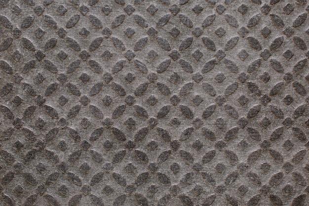 Superfície de belo padrão cinza