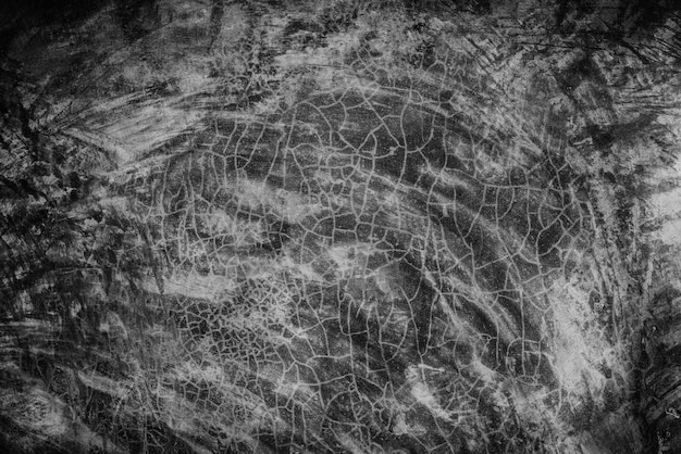 Superfície de cimento cinza preto velho escuro para segundo plano. texturas de parede de concreto.
