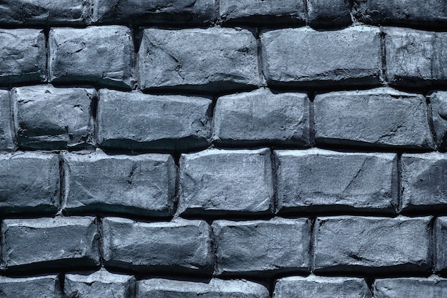 Superfície de cimento de tijolo.