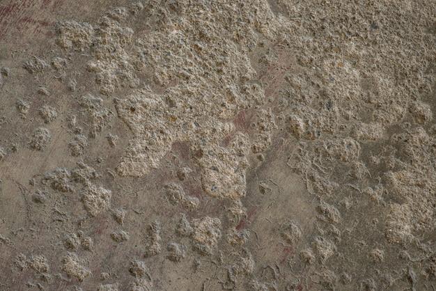 Superfície de cimento ter superfície lunar para anúncios, montagens de fotos, imagens de fundo.