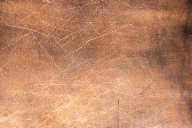 Superfície de cobre vintage