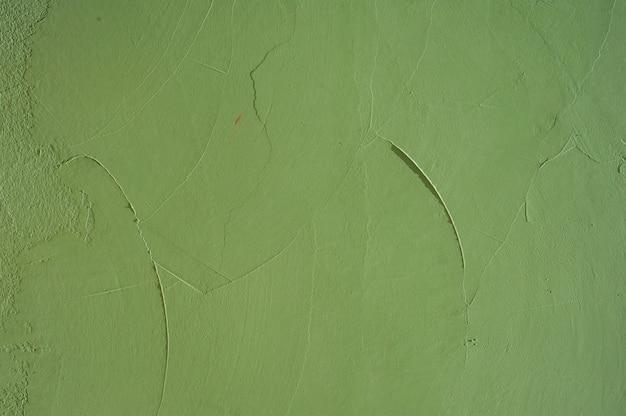 Superfície de concreto verde