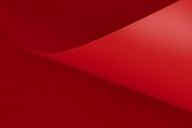 Superfície de espaço de cópia em papel vermelho elegante