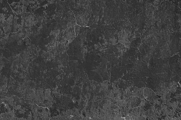 Superfície de estuque preto com pequenas fendas