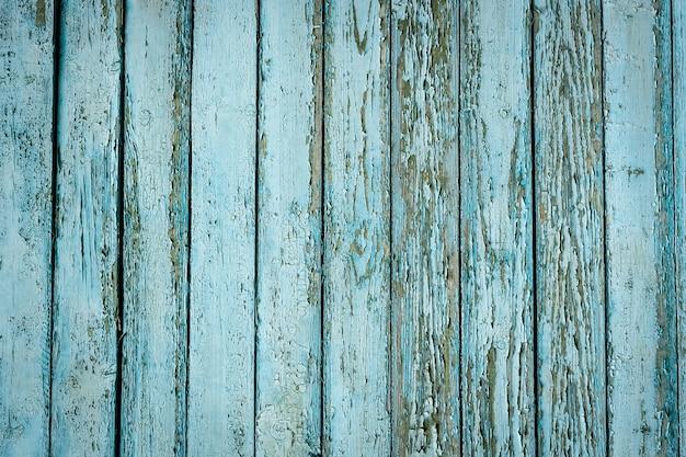 Superfície de fundo azul textura de madeira