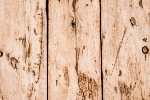 Superfície de fundo de textura de madeira com padrão antigo