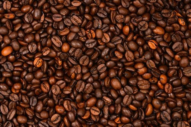 Superfície de grãos de café