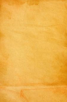 Superfície de grunge de papel pardo antigo