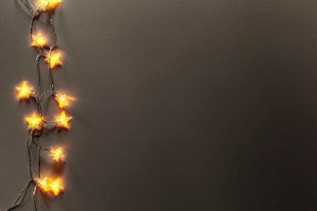 Superfície de luzes brilhantes