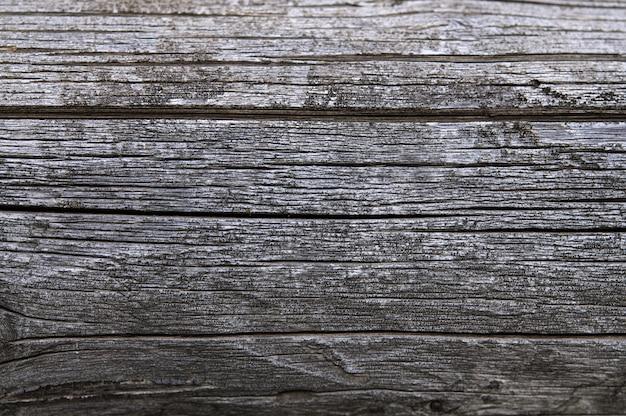Superfície de madeira de madeira velha cinza