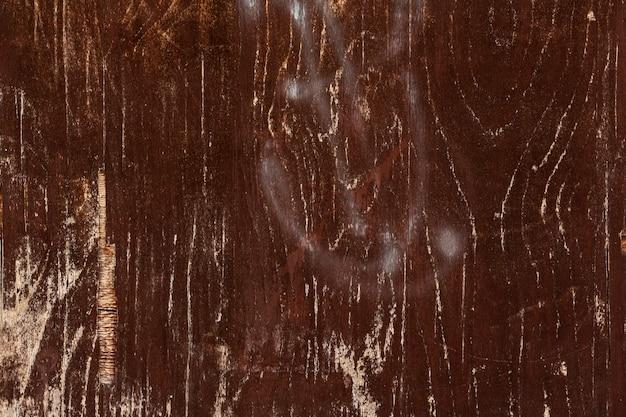 Superfície de madeira desgastada com tinta spray