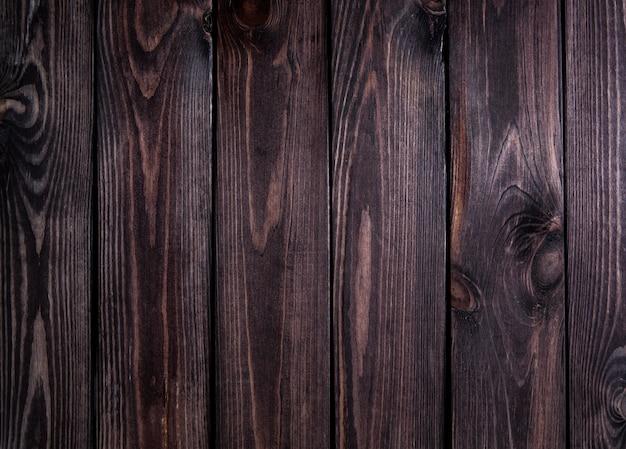 Superfície de madeira escura