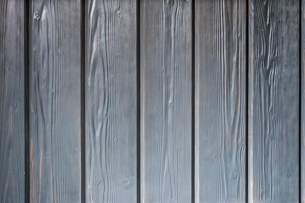 Superfície de madeira pintada em cinza
