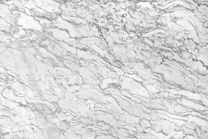 Superfície de mármore branco com veias