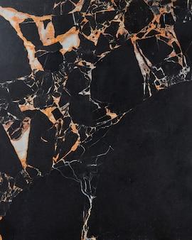 Superfície de mármore escuro. superfície da laje de pedra de granito