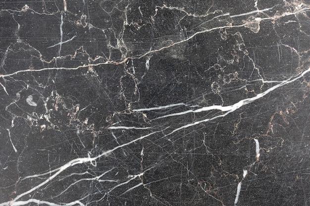 Superfície de mármore preto e branco